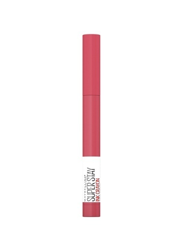 Maybelline New York Super Stay Ink Crayon Kalem Mat Ruj - 85 Change is Good Pembe
